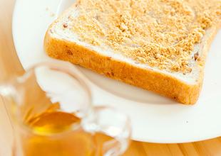 はちみつきな粉トースト画像