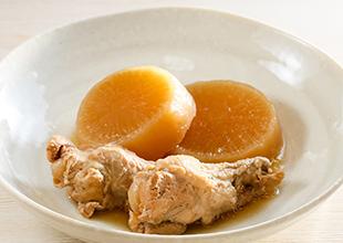 鶏手羽と大根の煮物画像